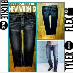 Buckle Jeans Size 36X35 Tyler Straight Leg EUC